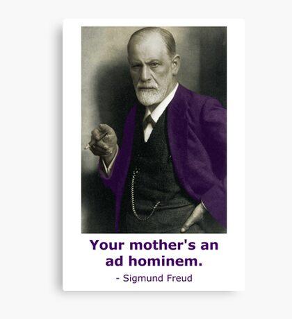 Oedipus Complex (feat. Sigmund Freud) Canvas Print