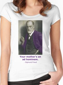 Oedipus Complex (feat. Sigmund Freud) Women's Fitted Scoop T-Shirt