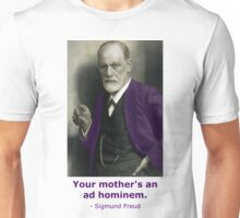 Oedipus Complex (feat. Sigmund Freud) Unisex T-Shirt