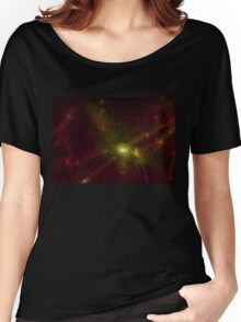 Pearl Galaxy Women's Relaxed Fit T-Shirt