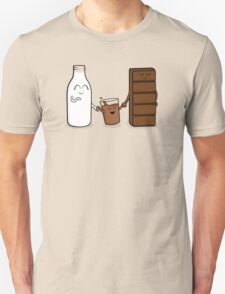 Milk + Chocolate Unisex T-Shirt