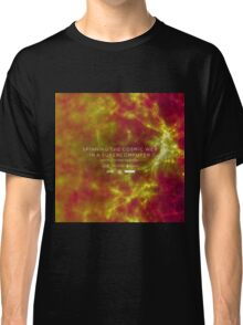Spinning the Cosmic Web in a Supercomputer Classic T-Shirt