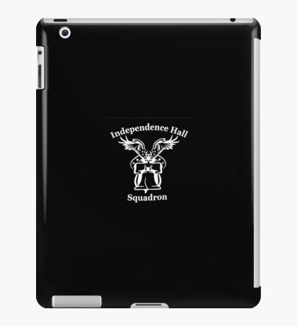 Independence Hall squadron (black) iPad Case/Skin