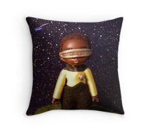 Chibi Chief Engineer Throw Pillow