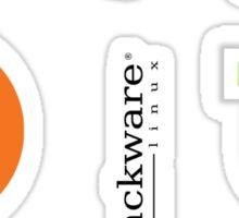 Linux Logo Sticker Set Sticker