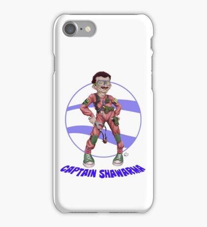 Captain Shawarma iPhone Case/Skin
