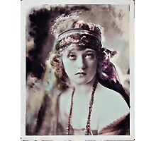 Marion in Scarves Photographic Print