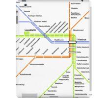 Linjakartta Tunnelirata iPad Case/Skin
