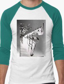 Flower Eyes in Spring Men's Baseball ¾ T-Shirt