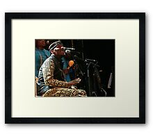 Jimmy Cliff  fz 1000 Olao-Olavia by Okaio Créations  c5 (t)  Framed Print