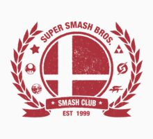 Smash Club (Red) Kids Clothes