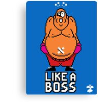 8Bits - Like A Boss - Cloud Nine Canvas Print