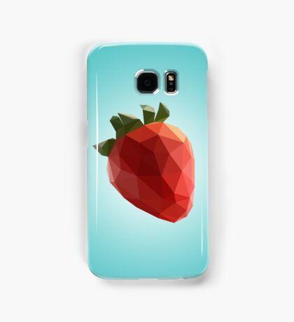 Polygon Strawberry Samsung Galaxy Case/Skin