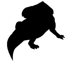 Protoceratops Silhouette by kwg2200