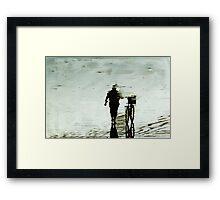 The Solitude Rider Framed Print