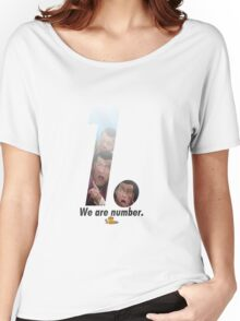 We are number one but its a Tshirt/scarf/clock etc. -Lazy town,Robbie Rotten Women's Relaxed Fit T-Shirt