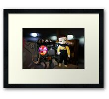 Atomic Android Framed Print