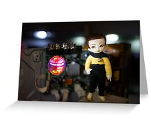 Atomic Android Greeting Card