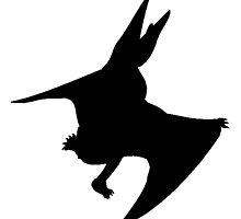 Pteranodon Silhouette by kwg2200