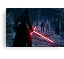 Star Wars - Kylo VS Rey & Finn Canvas Print