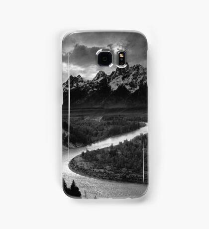 Ansel Adams - Grand Tetons and Snake River Samsung Galaxy Case/Skin