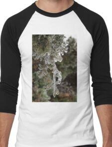 Mother Nature's Christmas Decorations - Cypress Branches Men's Baseball ¾ T-Shirt
