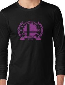 Smash Club Ver. 3 (Purple) Long Sleeve T-Shirt