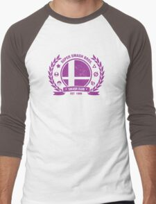 Smash Club Ver. 3 (Purple) Men's Baseball ¾ T-Shirt