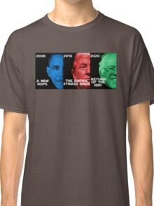 Star Wars Trilogy - Obama, Trump, Bernie  Classic T-Shirt