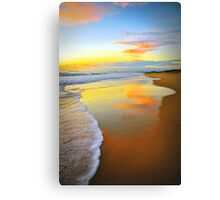 Beach Sunrise Canvas Print