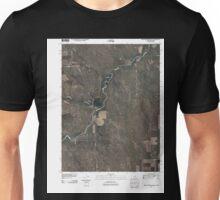 USGS TOPO Map Colorado CO Willow Creek Ranch 20100920 TM Unisex T-Shirt
