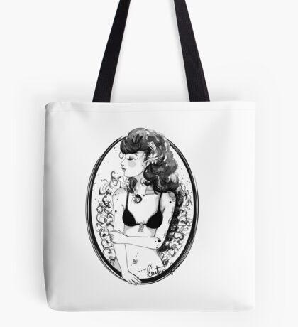 The coquette / La coqueta Tote Bag