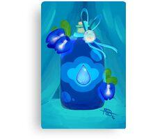 Crystal Jams - Lapis Lazuli Canvas Print