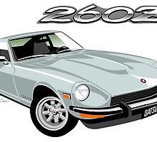 Datsun 260Z silver by car2oonz