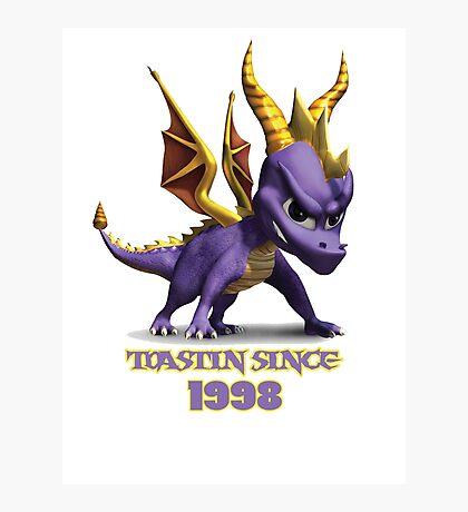 Spyro The Dragon Toastin' Photographic Print