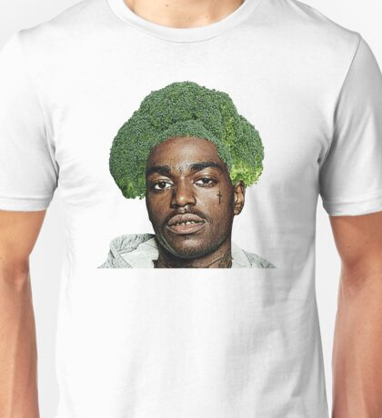 Kodak Black Broccoli Head- Transparent Background Unisex T-Shirt