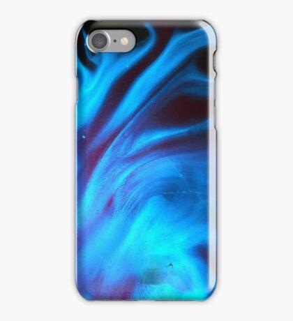 Blue Cosmic Texture iPhone Case/Skin
