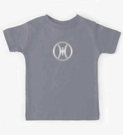 Silver Hillbilly Symbol Kids Tee