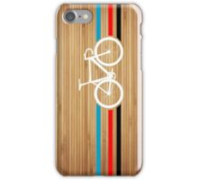 Bike Stripes Velodrome iPhone Case/Skin