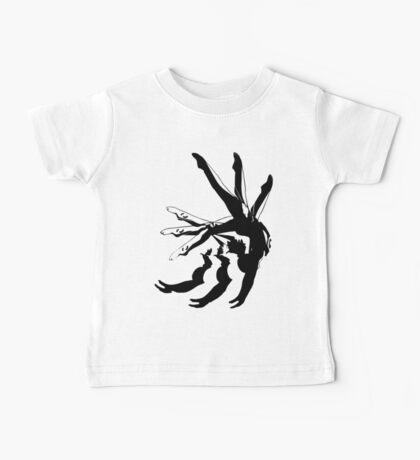 MOTION gymnastics black and white Baby Tee