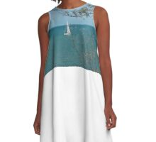 Tranquil waters  A-Line Dress