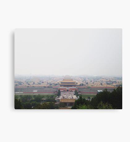 Tiananmen Square Forbidden City in Beijing, China Canvas Print