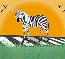 zebra by NirPerel