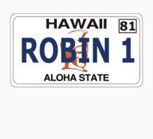 Robin 1  Magnum Hawaii Plate by derP