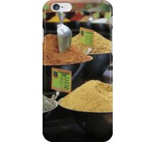 spice stall iPhone Case/Skin