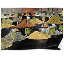 spice stall Poster