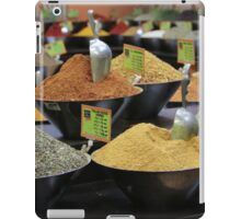 spice stall iPad Case/Skin