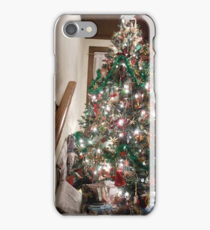 Christmas Tree I Green Theme  iPhone Case/Skin