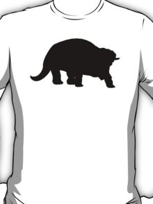 Triceratops Silhouette T-Shirt
