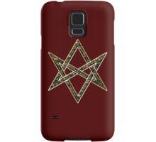 Unicursal hexagram, magic, ritual, spell, magick, symbol Samsung Galaxy Case/Skin